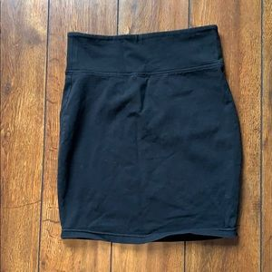 Kismet Black Bodycon skirt